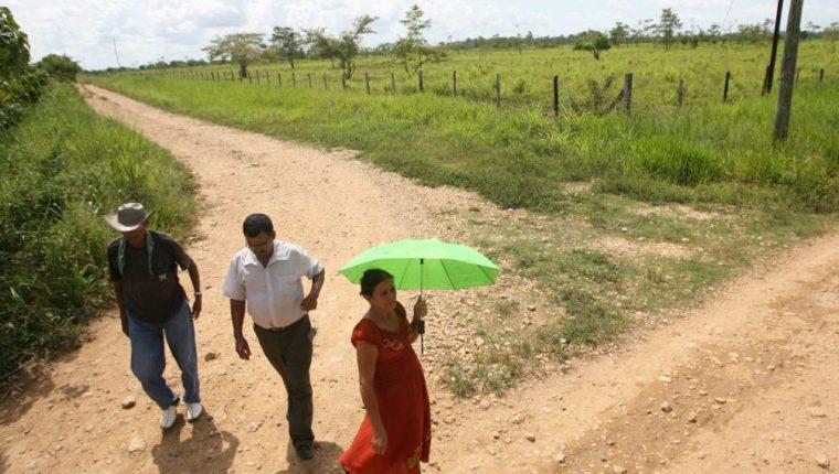 Más de 200 personas perdieron la vida durante la matanza de Dos Erres. (Foto Prensa Libre: Hemeroteca PL)