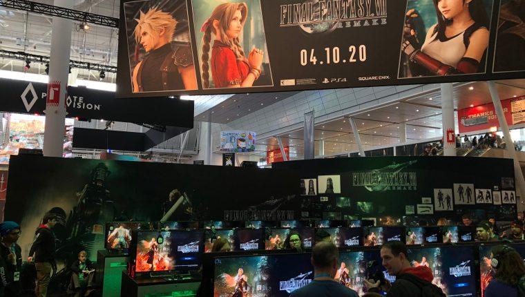"""""""Final Fantasy VII: Remake"""" se lanzará el 10 de abril de 2020. (Foto Prensa Libre: twitter.com/finalfantasyvii)"""