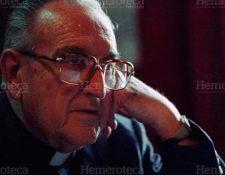 Juan José Gerardi Conedera fue asesinado el 26 de abril de 1998. (Foto Prensa Libre: Hemeroteca PL)