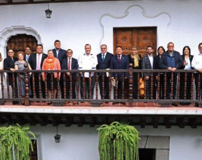 Giammattei y sector justicia se reúnen para discutir reformas al Sistema Penitenciario
