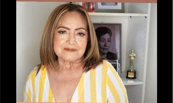 La fotografía de Herlinda Ferrez, de 67 años, compartida por su hija en redes sociales. (Foto Prensa Libre: Facebook)