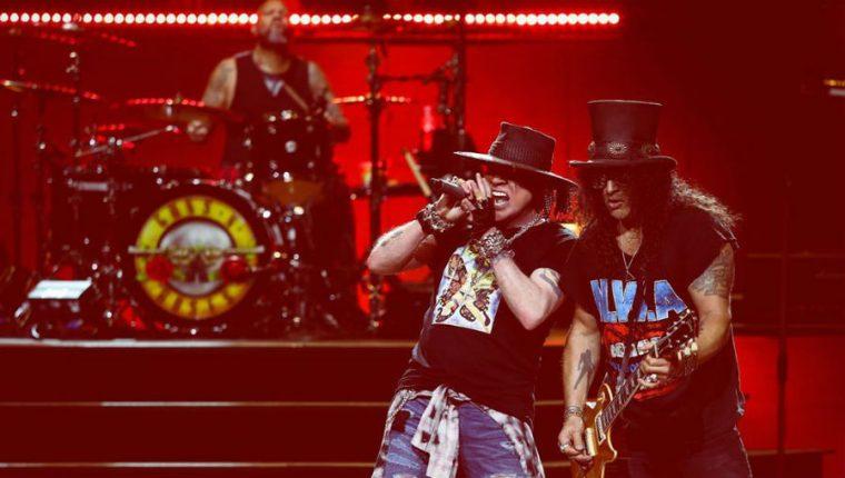 El concierto de Guns N´ Roses en Guatemala, previsto para el 8 de abril sigue en pie hasta el momento. (Foto Prensa Libre: Tomada de instagram.com/gunsnroses)