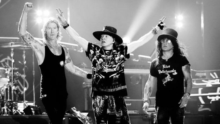 La banda Guns N´ Roses ofrecerá un concierto en Guatemala el 8 de abril de 2020. (Foto Prensa Libre: Instagram/gunsnroses)