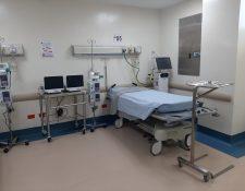 Guatemala ha habilitado un hospital para atender los eventuales casos de coronavirus. (Foto Prensa Libre: Andrea Domínguez).