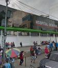 La mujer fue atendida en el Hospital de Enfermedades del IGSS en zona 9, sin embargo, los médicos le dieron medicina y la dejaron ir. (Foto Prensa Libre: Google Maps)