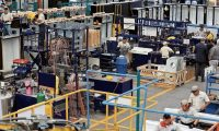 Recorrido por la nueva planta FOGEL DE CENTROAMERICA, fabricación de cámaras de refrigeración. Es una de las industrias de refrigeración más fuertes en el mundo con sedes en varias partes del mundo.  Foto por Carlos Hernández 28/05/2018
