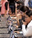Empresarios de varias actividades productivas respondieron que prevén más contratación de personal. (Foto, Prensa Libre: Hemeroteca PL).