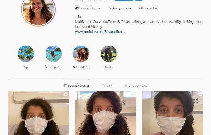 Jaia vino de viaje a Guatemala, pero ahora está hospitalizada por culpa del covid-19.