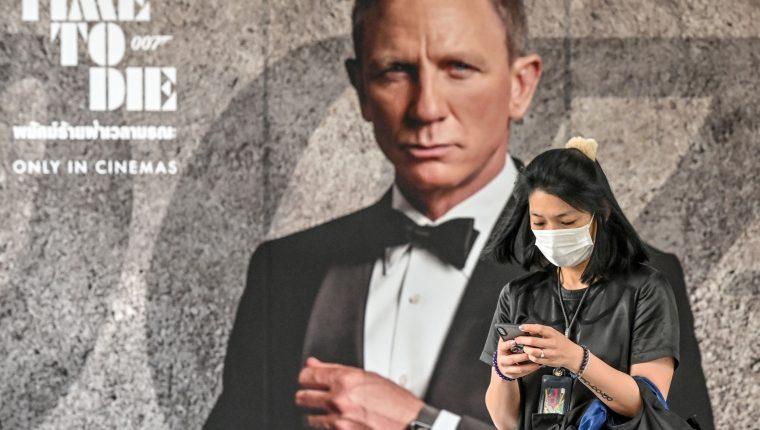 """La nueva película de James Bond """"No hay tiempo para morir"""" se retrasa hasta noviembre después de los temores de coronavirus según el estudio. (Foto Prensa Libre: AFP)"""