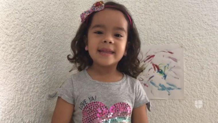 Sarah Cintrón Cotto, de 4 años, quiere ayudar a que su comunidad se proteja del nuevo coronavirus.