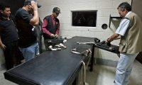 Módulo donde se aplica la inyección letal a condenados a la pena de muerte. (Foto Prensa Libre: Hemeroteca PL)