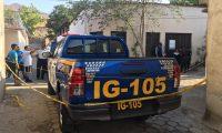 PNC resguarda lugar del ataque en Zacapa