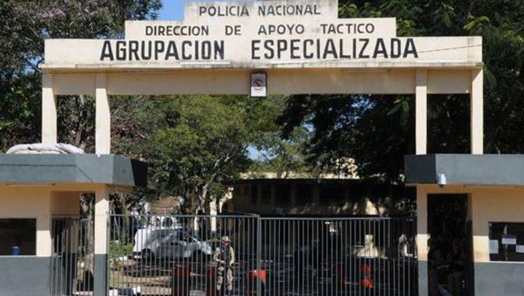 Esta es la sede de Agrupación Especializada, en cuyo interior hay una cárcel. (Foto Prensa Libre: paraguay.com)