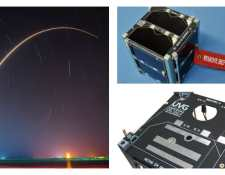 Quetzal 1 es el primer satélite guatemalteco desarrollado en la Universidad del Valle de Guatemala (UVG),(Foto Prensa Libre: SpaceX)