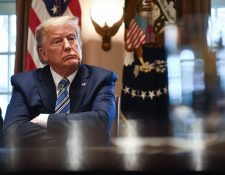Donald Trump cierra frontera de EE. UU. con Canadá y excluye comercio. (Foto Prensa Libre: AFP)