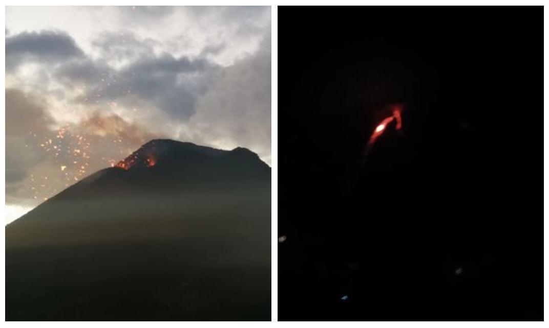 ¿Retumbos y explosiones en el Volcán de Fuego? Esto dice el Insivumeh y la Conred