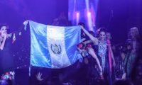 Yuri y Pandora cantaron en Fórum Majadas el viernes 6 de marzo. (Foto Prensa Libre: Keneth Cruz)