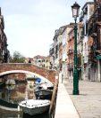 Venecia en estos tiempo de pandemia quedó totalmente desprovista de turistas. GETTY IMAGES