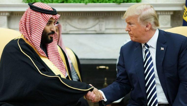 Mohamed Bin Salman, príncipe heredero de Arabia Saudita, ha establecido una relación cercana con Donald Trump.