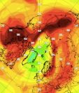 Durante esta primavera austral, el vórtice polar del Ártico registró temperaturas más frías y prolongadas.