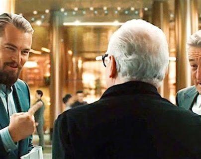 Leonardo DiCaprio y Robert De Niro han iniciado una subasta benéfica por la crisis del coronavirus. (Foto Prensa Libre: YouTube)