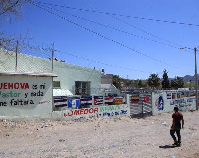 Fotografía de las instalaciones del albergue para migrantes El Buen Samaritano, en Ciudad Juárez, México. (Foto Prensa Libre: EFE)
