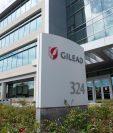 Vista de Gilead Sciences, Inc., laboratorio desarrollador del remdesivir. (Foto Prensa Libre: AFP)