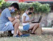 La población se enfrenta ante un panorama de aumento del desempleo. (Foto Prensa Libre: EFE)