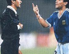 El exárbitro Edgardo Codesal habló del juego de la final del Mundial de  Italia 90. Foto Prensa Libre: Tomado de redes
