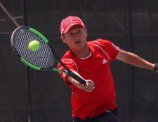 El tenista guatemalteco Ian Amaya. (Foto Prensa Libre: Cortesía).