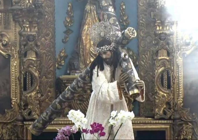 Jesús de la Merced es el Patrón Jurado de Guatemala contra pestes y calamidades. Foto Prensa Libre: Eventos Católicos