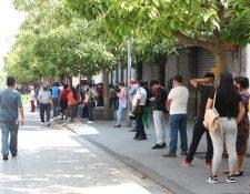 El presidente Alejandro Giammattei pidió a la población no salir de su casa para evitar más contagios. (Foto Prensa Libre: Érick Ávila).