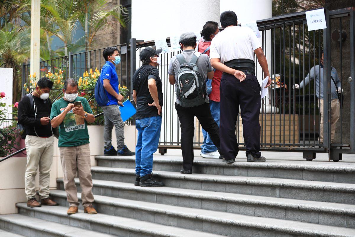 Pnademia: Mintrab registra mil 400 despidos durante la emergencia por coronavirus