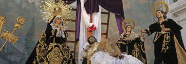 Las iglesias que tradicionalmente llevaban a cabo su procesión el Viernes Santo hicieron diferentes actividades este día.