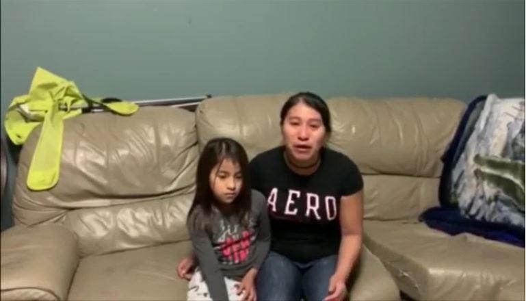 Preso y con covid-19: el drama de una guatemalteca que clama por la liberación de su esposo en EE. UU.