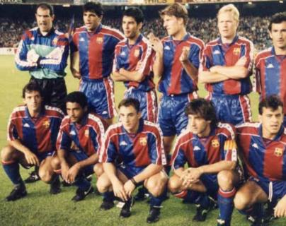 Uno de los mejores equipos del Barsa se gestó hace 30 años. (Foto Prensa Libre: Redes)