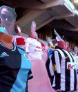El futbol de Bieolorrusia llena sus estadios de maniquíes para simular a la afición. (Foto Redes).