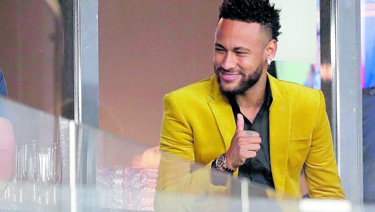 Neymar, jugador del París Saint-Germain, está en Brasil pasando la cuarentena. (Foto Prensa Libre: Hemeroteca PL)
