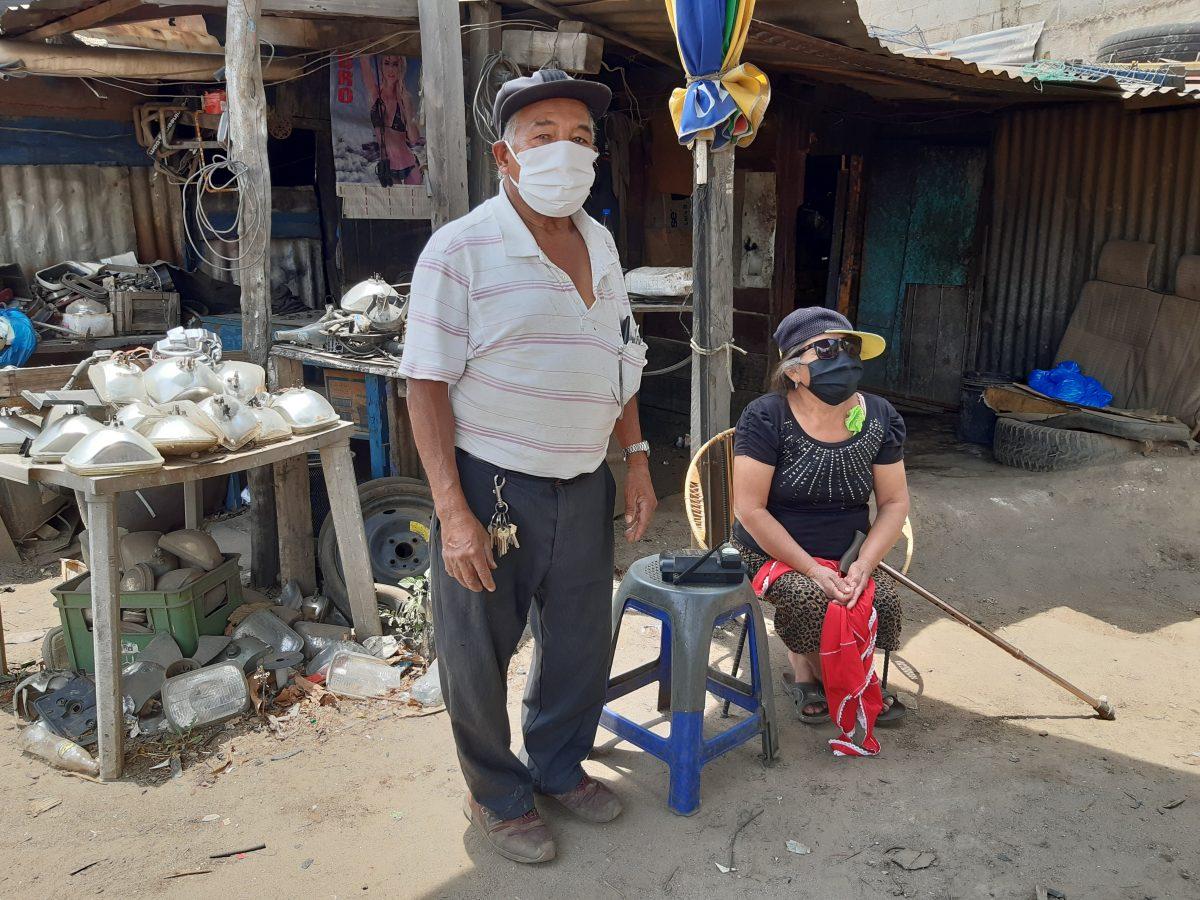 El desgarrador testimonio de una pareja de adultos mayores que busca apoyo en la crisis del coronavirus