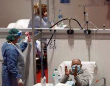 El coronavirus ha dejado más de cien mil muertos en los cinco continentes. (Foto Prensa Libre: EFE).
