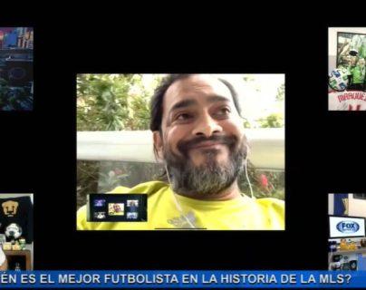Carlos ¿el Pescado' Ruiz fue entrevistado en Fox Deportes y habló sobre la MLS. (Foto Prensa Libre: Facebook Fox Deportes)