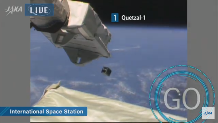 ¡Histórico! El primer satélite guatemalteco Quetzal-1 ya está en órbita en el espacio