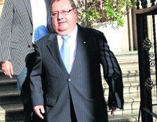Rafael Salguero vuelve a ser señalado en el Fifa Gate. (Foto Prensa Libre: Hemeroteca PL)