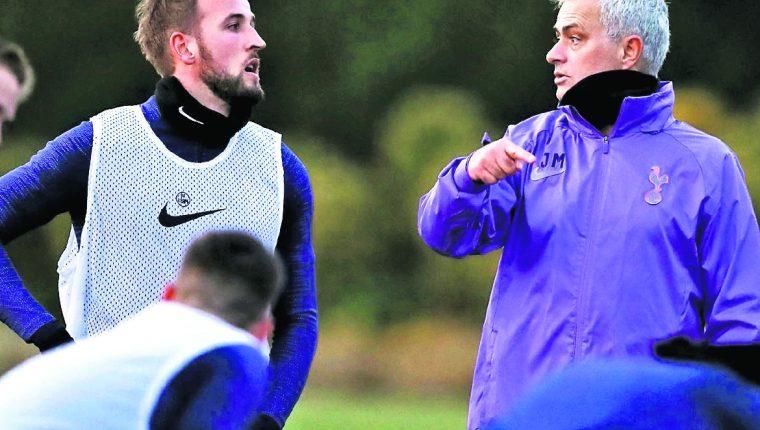 José Mourinho, entrenador del Tottenham. (Foto Prensa Libre: Hemeroteca PL)
