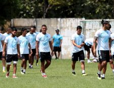Si el Ministerio de Salud da el aval, los jugadores podrían volver a los entrenamientos. (Foto Prensa Libre: Hemeroteca PL)