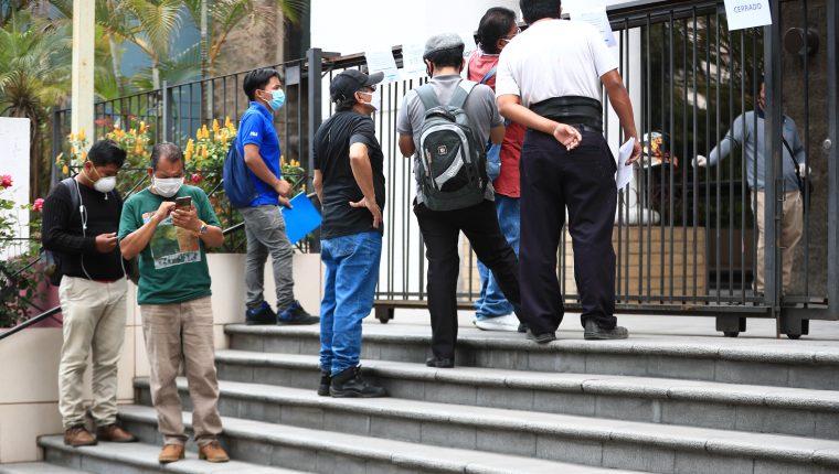Coronavirus: ¿Cuántos puestos de trabajo se podrían perder este año en Guatemala?