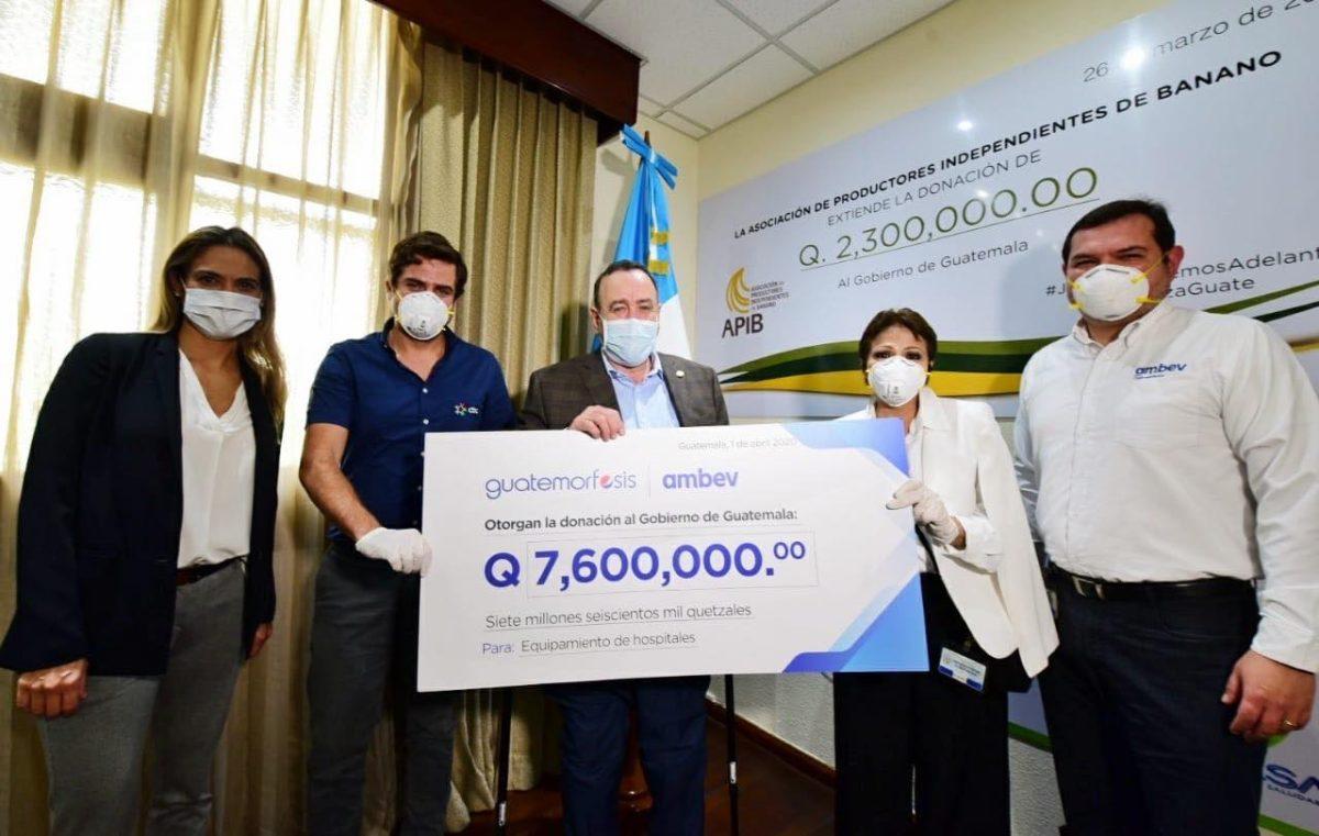 Guatemorfosis ayuda con equipo médico para los hospitales temporales