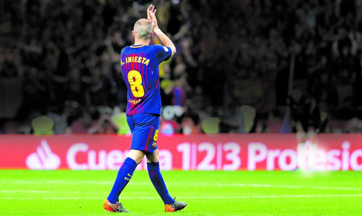 Iniesta se pone nostálgico y rememora su último gol y su última final con el Barcelona