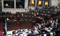 Diputados se reúnen para aprobar la ampliación presupuestaria por Q5 mil millones. (Foto Prensa Libre: Congreso)