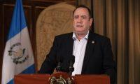 Alejandro Giammattei, presidente de Guatemala  (Foto Prensa Libre: Tomada del canal de gobierno).